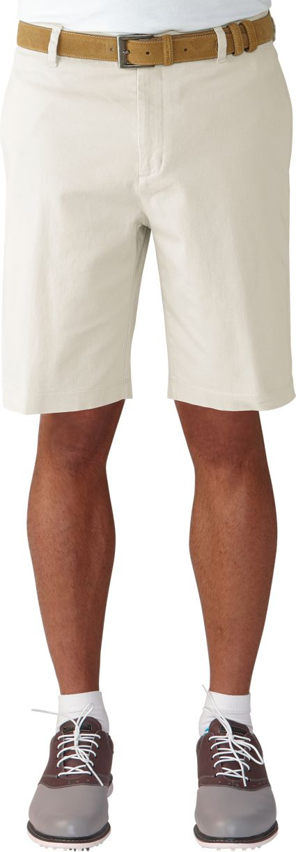 Ashworth Cotton Flat Front Twill Shorts