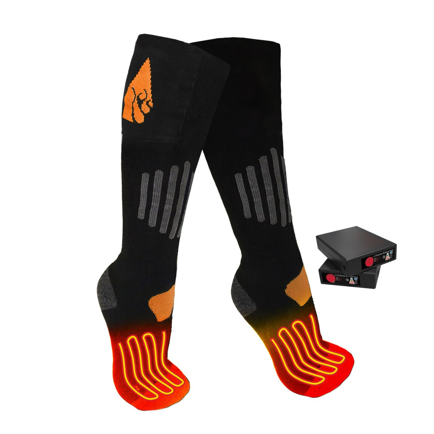 ActionHeat Wool Rechargeable Heated Socks