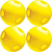 ATEC Hi.Per LTD Optic Training Baseballs - 4 Pack