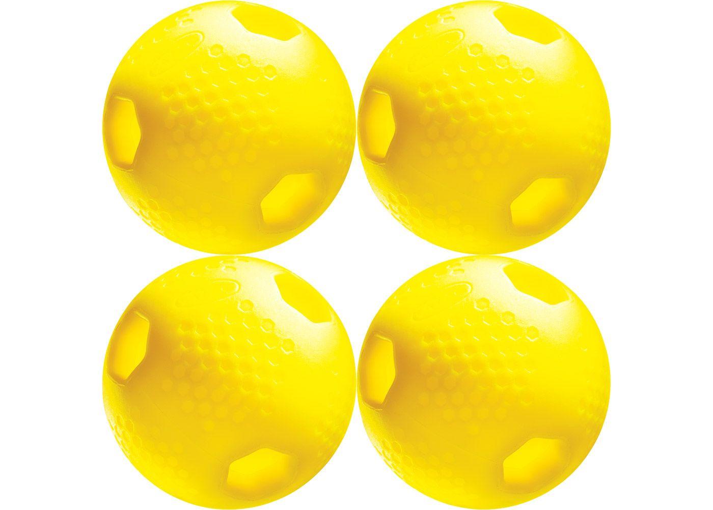 ATEC Hi.Per LTD Optic Training Baseballs - 4 Pack