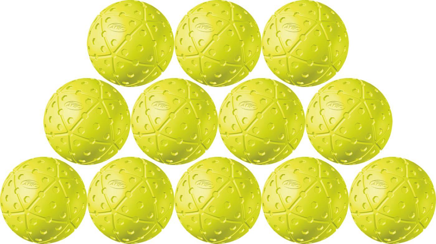 "ATEC 12"" Hi.Per X-ACT Pitching Machine Fastpitch Softballs - 12 Pack"