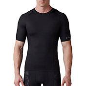 SECOND SKIN Men's QUATROFLX Short Sleeve Compression Top