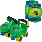 Teenage Mutant Ninja Turtles Boys' Roller Skates and Knee Pads