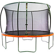 Jump Power 12' Round Trampoline with Safety Enclosure Net