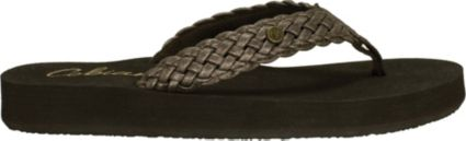 Cobian Women's Braided Bounce Flip Flops