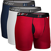 2UNDR Swing Shift Folds of Honor 6'' Boxer Briefs 2 Pack
