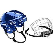 Bauer 2100 Senior/Junior Ice Hockey Helmet Combo