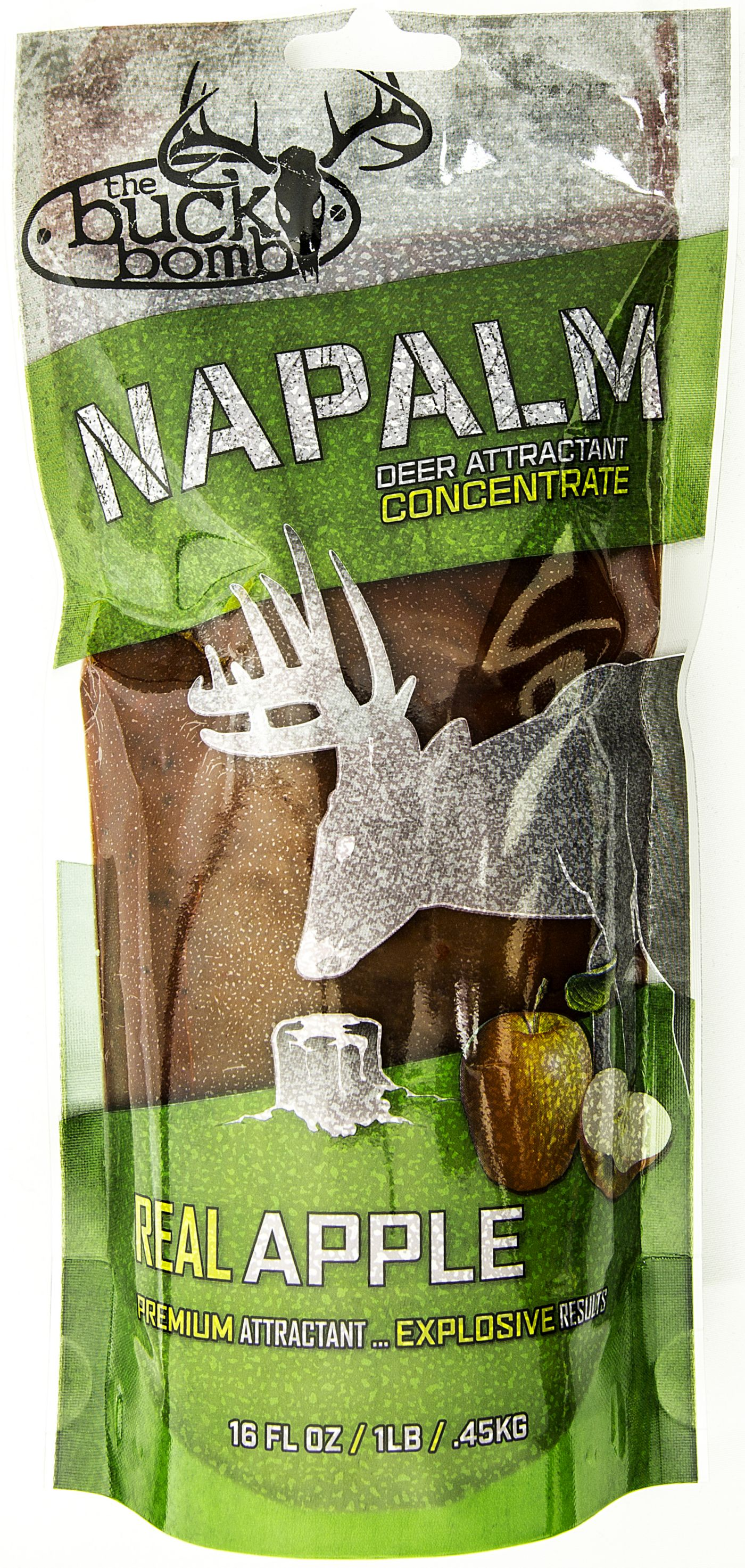 Buck Bomb Apple NAPALM Deer Attractant
