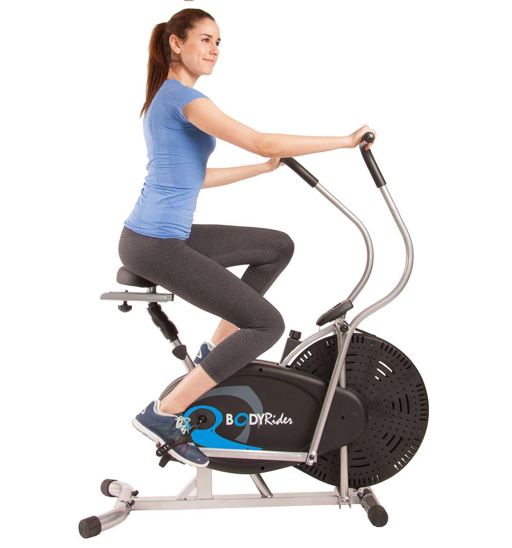 Body Rider Upright Fan Exercise Bike