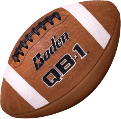 ebee8ac32ea56 Baden QB1 Game Leather Official Football