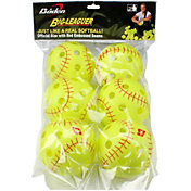 "Baden 12"" Big-Leaguer Practice Softballs - 6 Pack"