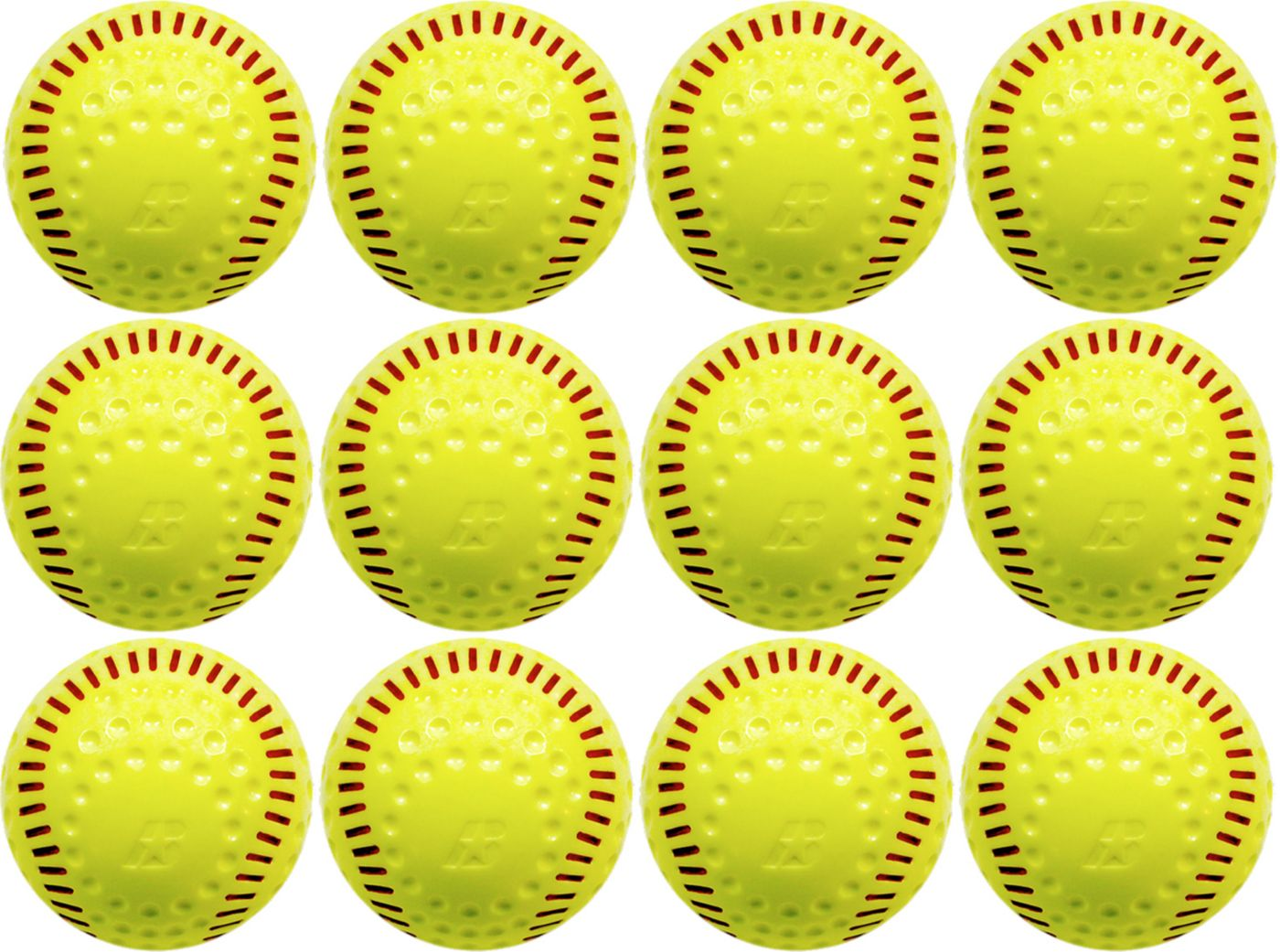 Baden Featherlite Limited Flight Practice Softball - 12-Pack