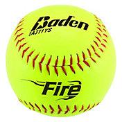 Baden ASA Fire .44 Slow Pitch Softballs – 12 Pack