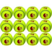 Baden USSSA Classic Plus .52 Slow Pitch Softballs – 12 Pack