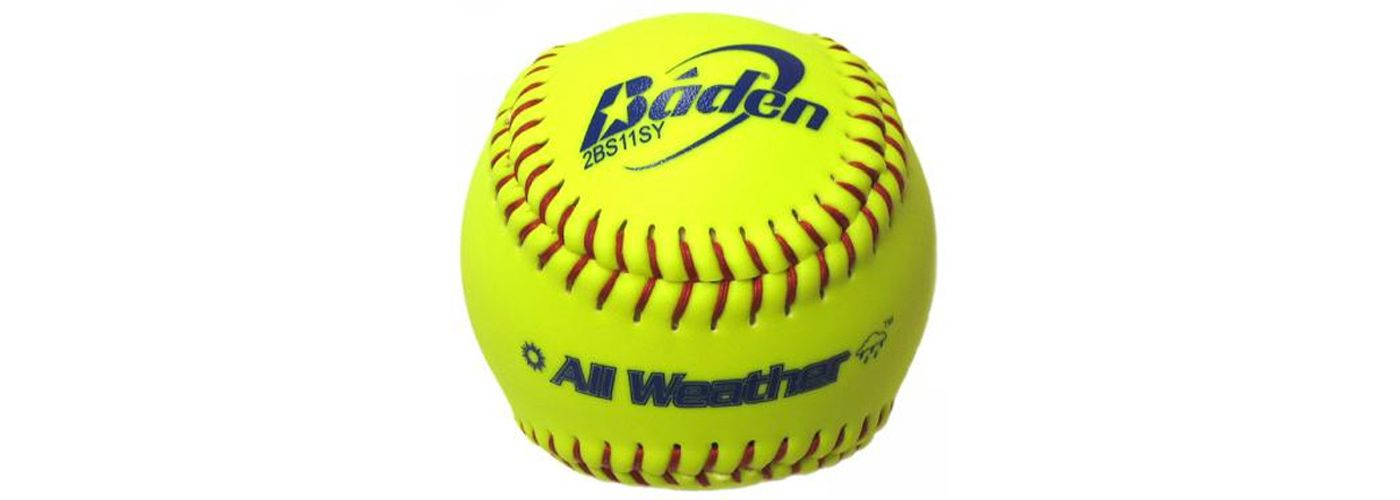 """Baden 11"""" All-Weather Fastpitch Softball"""
