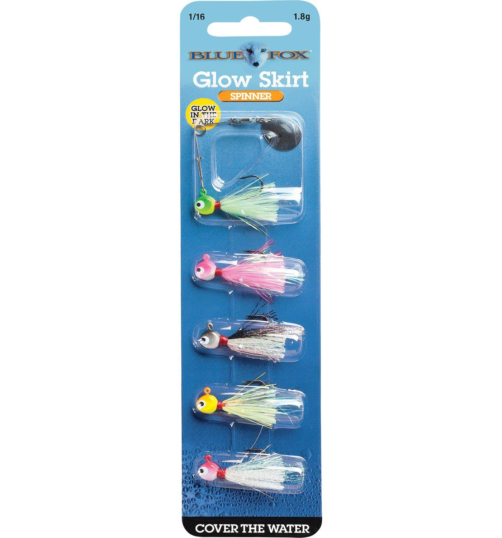 Blue Fox Glow Skirt Spinner Kit