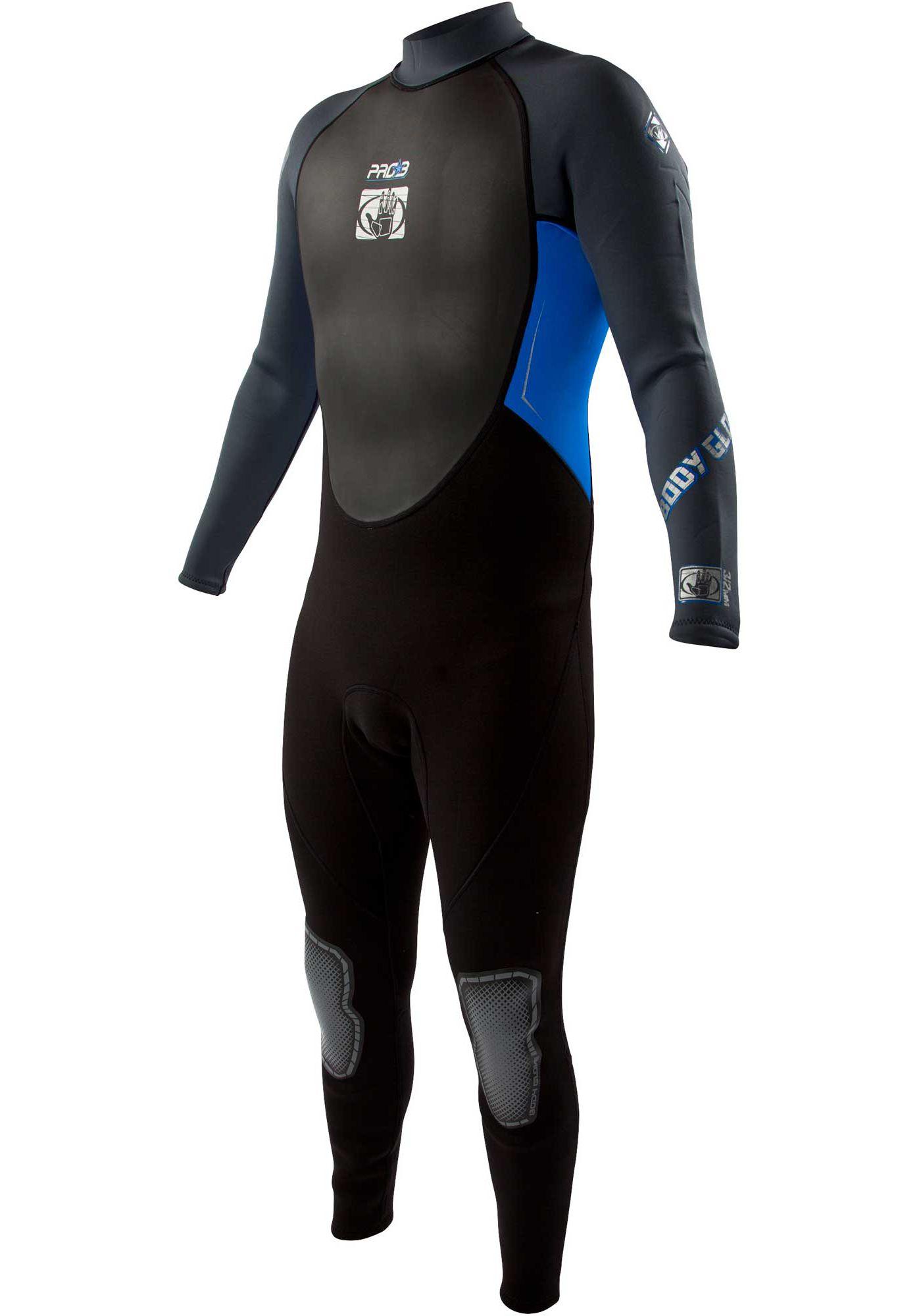 Body Glove Men's Pro 3 Back Zip Wetsuit