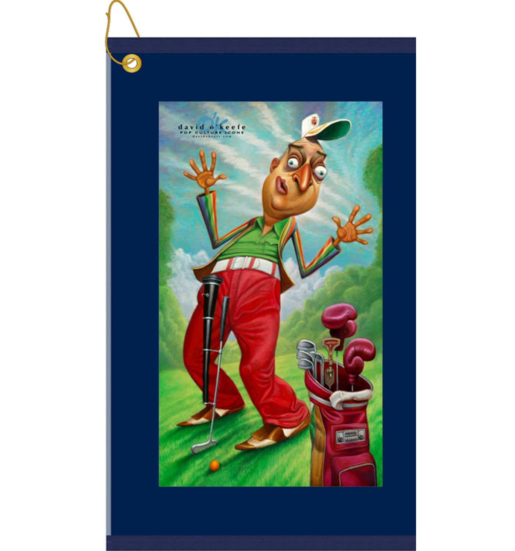 Bag Boy Al Czervik - A Tribute to Rodney Dangerfield Golf Towel