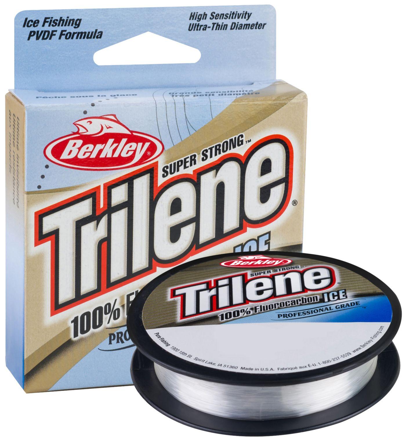 Berkley Trilene 100% Fluorocarbon Ice Fishing Line