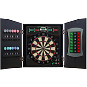 Bullshooter CricketMaxx 5.0 E-Bristle Dartboard Cabinet Set