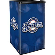 Boelter Milwaukee Brewers Counter Top Height Refrigerator