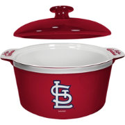Boelter St. Louis Cardinals Game Time 2.4qt Oven Ceramic Bowl