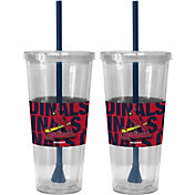 Boelter St. Louis Cardinals Bold Sleeved 22oz Straw Tumbler 2-Pack