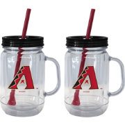 Boelter Arizona Diamondbacks 20oz Handled Straw Tumbler 2-Pack