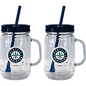 Boelter Seattle Mariners 20oz Handled Straw Tumbler 2-Pack
