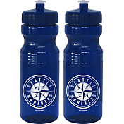Boelter Seattle Mariners 24oz Squeeze Water Bottle 2-Pack