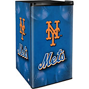 Boelter New York Mets Counter Top Height Refrigerator