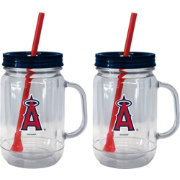 Boelter Los Angeles Angels 20oz Handled Straw Tumbler 2-Pack