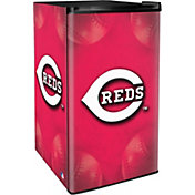 Boelter Cincinnati Reds Counter Top Height Refrigerator