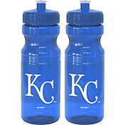 Boelter Kansas City Royals 24oz Squeeze Water Bottle 2-Pack