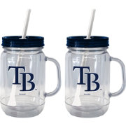Boelter Tampa Bay Rays 20oz Handled Straw Tumbler 2-Pack