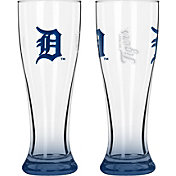 Boelter Detroit Tigers 16oz Elite Pilsner 2-Pack