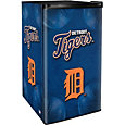 Boelter Detroit Tigers Counter Top Height Refrigerator