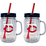 Boelter Minnesota Twins 20oz Handled Straw Tumbler 2-Pack