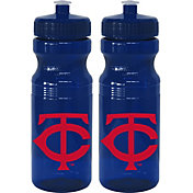 Boelter Minnesota Twins 24oz Squeeze Water Bottle 2-Pack