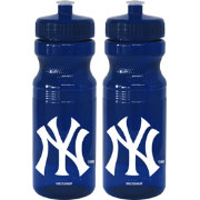 Boelter New York Yankees 24oz Squeeze Water Bottle 2-Pack