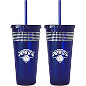 Boelter New York Knicks Bling 22oz Straw Tumbler 2-Pack