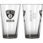 Boelter Brooklyn Nets 16oz Elite Pint 2-Pack
