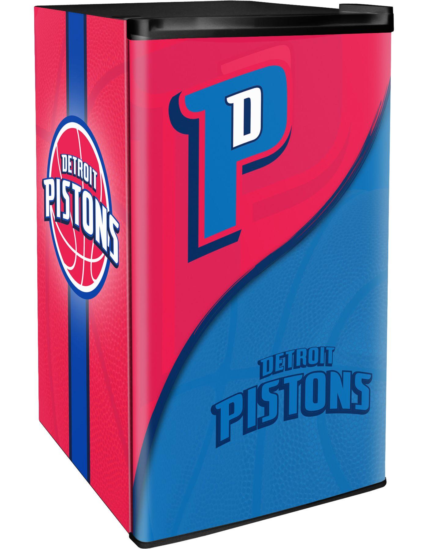 Boelter Detroit Pistons Counter Top Height Refrigerator