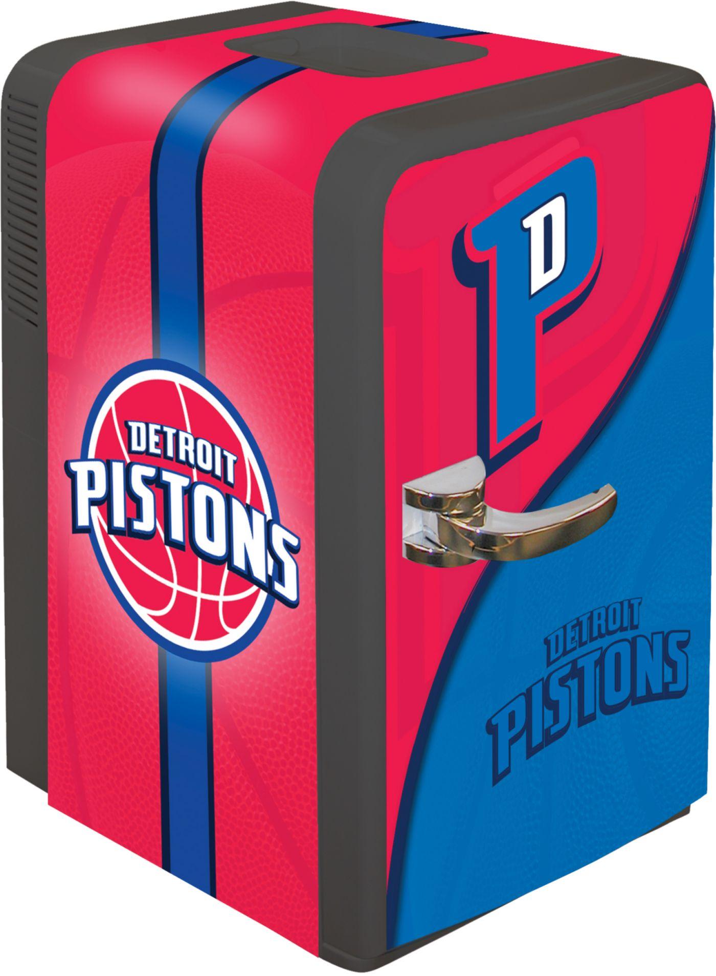 Boelter Detroit Pistons 15q Portable Party Refrigerator