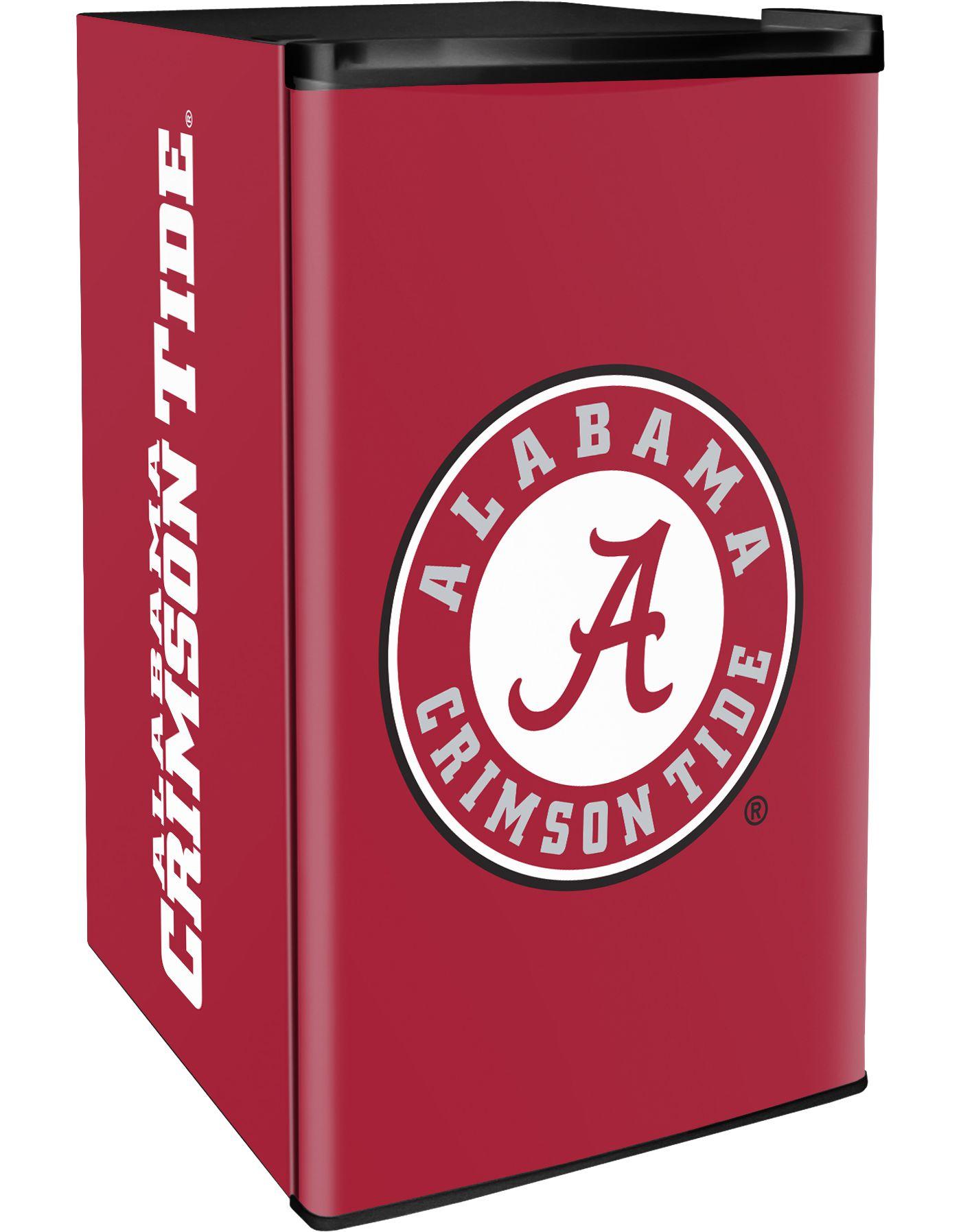 Boelter Alabama Crimson Tide Counter Top Height Refrigerator