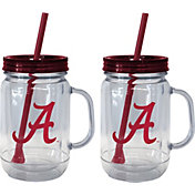 Boelter Alabama Crimson Tide 20oz Handled Straw Tumbler 2-Pack
