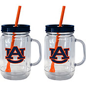 Boelter Auburn Tigers 20oz Handled Straw Tumbler 2-Pack