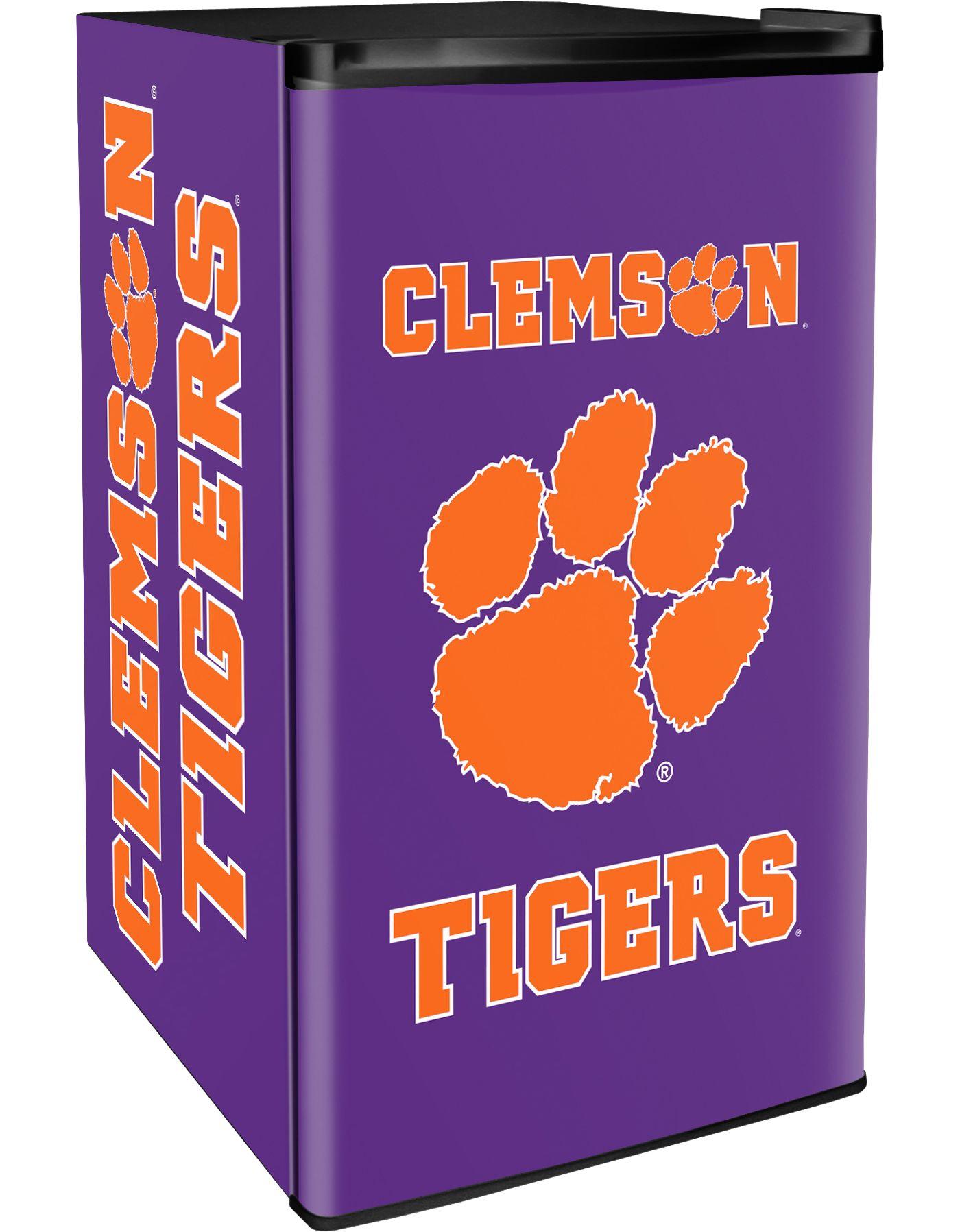 Boelter Clemson Tigers Counter Top Height Refrigerator