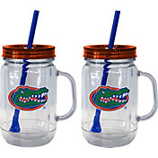 Boelter Florida Gators 20oz Handled Straw Tumbler 2-Pack