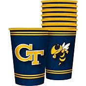 Boelter Georgia Tech Yellow Jackets Souvenir 20oz Plastic Cup 8-Pack